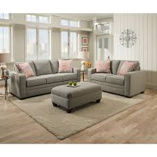 Simmons Upholstery Upgrade Your Living Decor With The Addition Of This Grey Simmons