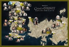 Essos Map Remind Yourself Where Everyone Is Ahead Of Season 6