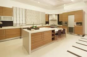 modern italian kitchen design wooden countertop black fashionable