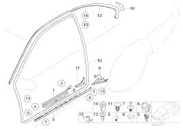 bmw e46 coupe parts bmw genuine door sill plate cover black e46 3 series coupe