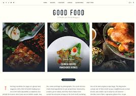20 best new food wordpress themes for bloggers 2017