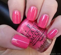 nail opi pink polish cameleon nail polish