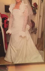 where to get my wedding dress cleaned pronovias once worn professionally cleaned wedding dress sell my