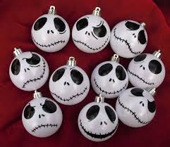 shining ideas skellington ornament ornaments tree