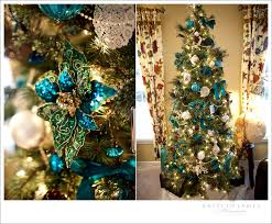 Brown And Turquoise Christmas Tree Decorations by It U0027s Christmas Time At The Alsop U0027s Virginia Wedding Photographer