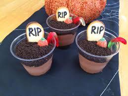 Halloween Graveyard Dirt Cake Recipe by Graveyard Pudding Dirt Cups Newell Family Kitchen