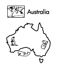 egypt map coloring page australia continent in world map coloring page printable