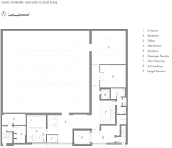 Floor Plan Websites Home Decor David Zwirner Gallery Selldorf Architects