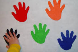hi five felt colors favorite toddler activities crafts