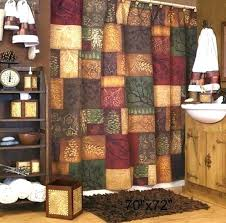 Shower Curtains Rustic Horseshoe Shower Curtain Rustic Shower Curtains Cabin Pine Shower