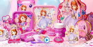 sofia the party supplies sofia the birthday ideas