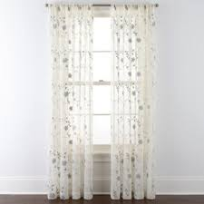 jcpenney home malta rod pocket curtain panel jcpenney