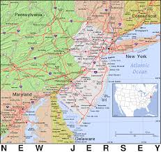 Connecticut New York Map by Nj New Jersey Public Domain Maps By Pat The Free Open Source