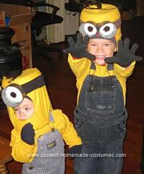 Halloween Costumes 5 Boy 21 Diy Minion Costumes Despicable Halloween Snappy