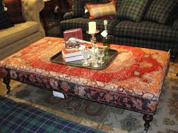 antique rug remnant ottoman upholstery inspiration pinterest