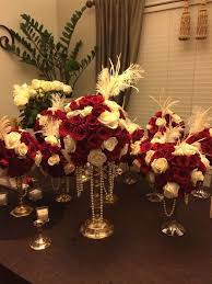 Great Gatsby Centerpiece Ideas by Great Gatsby Feather Centerpieces Supplies By Sweet16candleholder