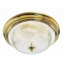 Brass Ceiling Light Brass Flushmount Lights Lighting The Home Depot