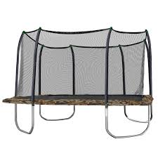 rectangular trampolines with enclosures trampoline for your health