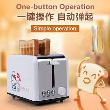 Stainless Toaster 2 Slice Aliexpress Com Buy Stainless Steel Bread Toaster 2 Slices Toast