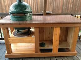 Green Egg Table by Big Green Egg Table Texasbowhunter Com Community Discussion Forums