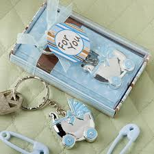 baby shower keychain favors baby carriage key chain favor