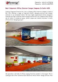 best corporate office interior design company in delhi ncr by