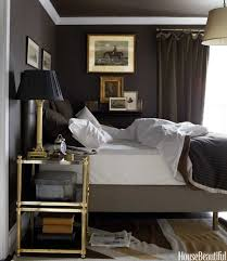 Gray And Brown Bedroom by Chocolate Brown Walls Design Ideas