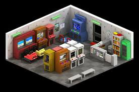 arcade game room on behance casual pinterest arcade game
