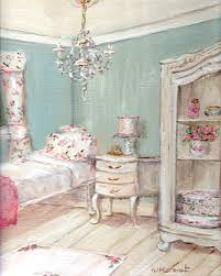 Shabby Chic Bedroom Design Ideas Bedroom Shabby Chic Guest Room Painting By Gail Mccormack Modern