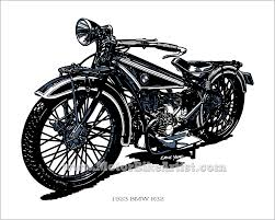bmw bicycle logo motorbikeartist com original motorcycle drawings by ernie young