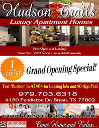 one month free grand opening special at brand new luxury resort