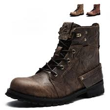 best street riding boots new top quality motorcycle touring boots vintage design casual wear