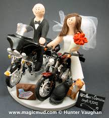 harley davidson wedding cake toppers and groom harley davidson motorcycles wedding cake