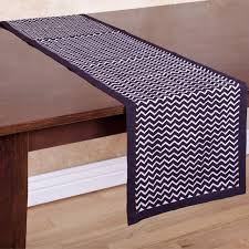 zig zag table runner zallzo zig zag table runner reviews wayfair ca