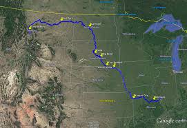 Google Map Of The United States by Missouri River Facts Map History Britannicacom List Of Rivers Of