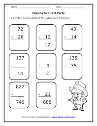 ideas about grade 2 math subtraction worksheets wedding ideas