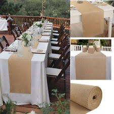 burlap decorations for wedding burlap wedding decorations ebay