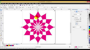 pattern fill coreldraw x6 tutorial creating patterns in coreldraw youtube