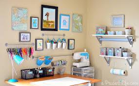 Corner Craft Desk Craft Room Guest Room Combo Room Reveal Part 1 Polished Habitat