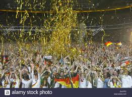 frankfurt germany 13th july 2014 german fans celebrate germany s