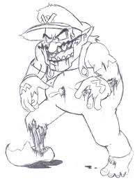 zombie wario by dairyking on deviantart
