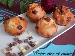 entre rire et cuisine on aime muffins au lait concentré non sucré et chunks 3 chocolats