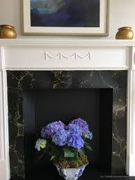 diy faux fireplace how to refinish a vintage mantel all things