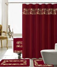 Bath Sets With Shower Curtains Embroidered Shower Curtain Set Shower Curtains Ebay
