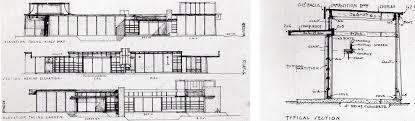 hollyhock house plan schindler s west hollywood kings road house designapplause