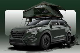hyundai tucson second second road ready 2016 hyundai tucson gears up for sema