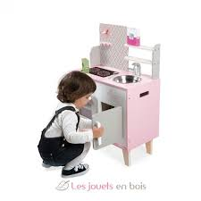 cuisine janod bois macaron cooker janod 6567 wooden kitchen made by janod