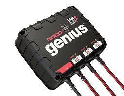 amazon com noco genius genm3 12 amp 3 bank waterproof smart on
