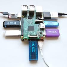 Usb Hub Big7 7 Port Mtt Usb Hub For Raspberry Pi Uugear