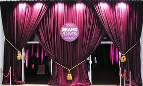 Pipe And Drape Hire Event Drapes Venue Draping Stage Backdrops